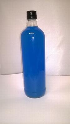 Jenever Curacao (turqois) mat 1 liter 18%vol - enkel afhalen