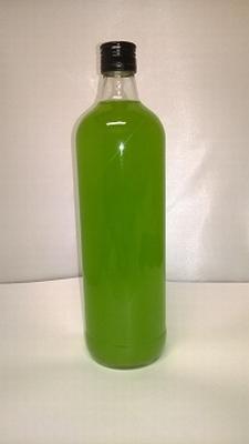 Jenever Banaan (limoenkleur) mat 1 liter 18%vol - enkel afha