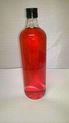 Jenever Framboos (fusia) mat 1 liter 18%vol - enkel afhalen