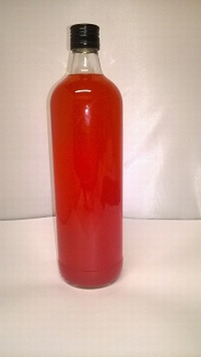 Jenever Kers (fusia) helder 1 liter 18%vol - enkel afhalen