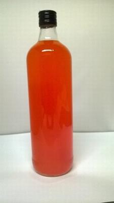 Jenever Mandarijn (oranje) helder 1 liter 18%vol - afhalen