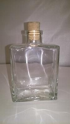 Capri flesje medium 200ml (jenever of handzeep) - enkel afha