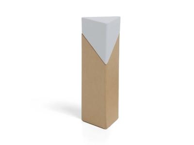 Nordic Wit Driehoekig Doosje (12 stuks)