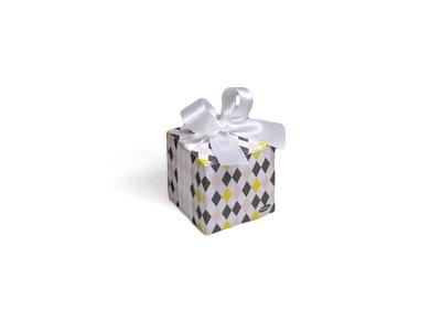 Betty Wit Arlequin kubus doosje (24 stuks)