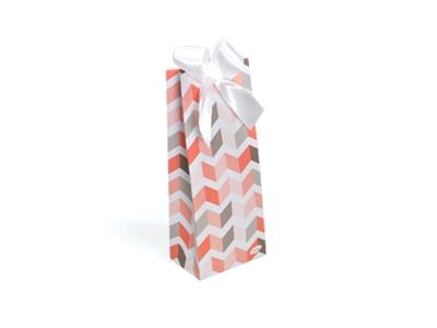 Betty Oranje zigzag laag tasje (24 stuks)