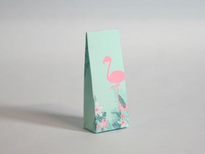 Miami Flamingo hoog tasje (24 stuks)