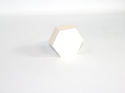 Naturalplus 6-hoekig doosje klein wit (12 stuks)