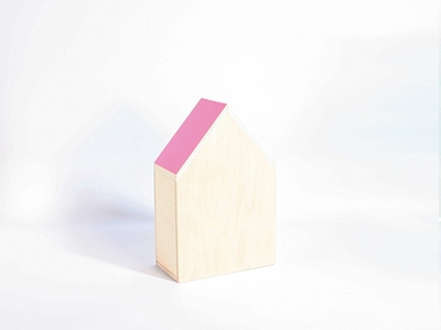 Naturalplus huisje medium flamingo