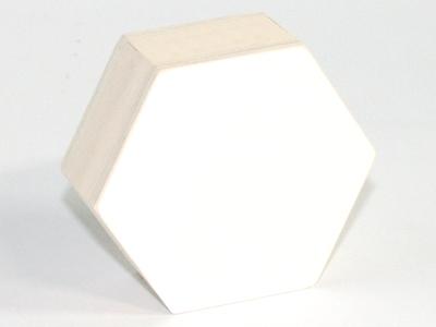 Naturalplus 6-hoekig doosje xlarge wit