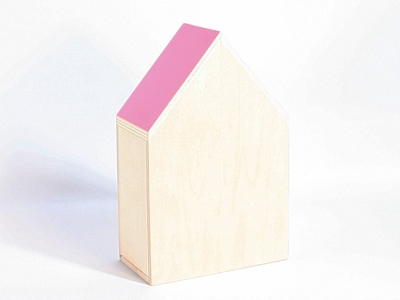 Naturalplus huisje xlarge flamingo