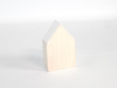 Naturalplus huisje medium wit