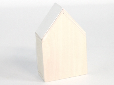 Naturalplus huisje xlarge wit