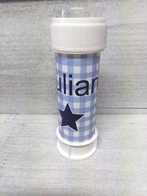 Belleblaas wikkel bedrukt met uw ontwerp