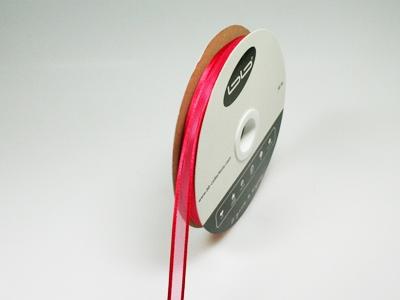 Luxe voile rood 10 mm 25 meter