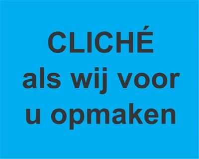 Cliché, indien wij uw doosje ontwerpen