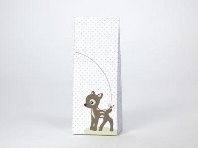 Bambi Suzi warm grey laag tasje (24 stuks)