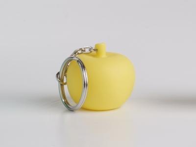 Pom soft yellow sleutelhanger (24 stuks)
