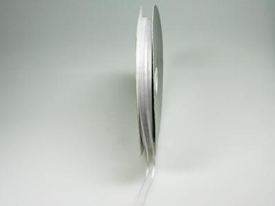 Luxe voile licht grijs 10 mm 25 meter