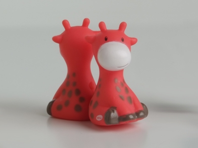 Giraf koraal magneet (24 stuks)