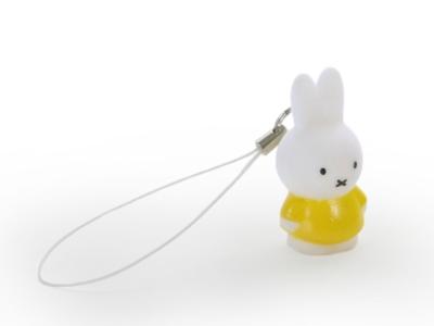Nijntje geel mini sleutelhanger (12 stuks)