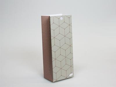 Pom brons laag tasje (24 stuks)