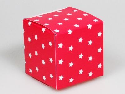 Sterretjes rood kubus