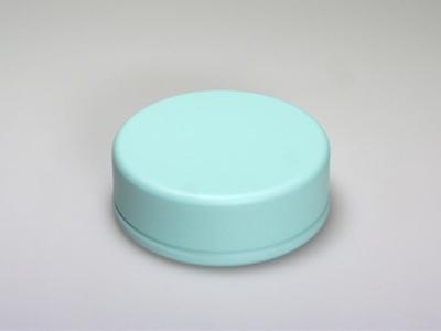 Aqua blik rond (24 stuks)