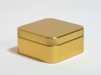 Goud blik vierkant (24 stuks)