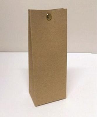 Laag tasje muskat new brown - € 0,80 /stuk - vanaf 10 st