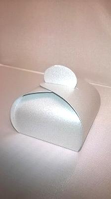Bonbondoosje stardream zilver - € 0,80 /stuk - vanaf 10 stuk