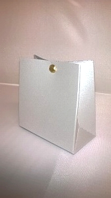 Breed tasje stardream zilver - € 0,80 /stuk - vanaf 10 stuks