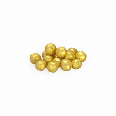 Mini choco choups parelmoer goud 500 gram