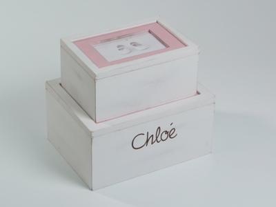 Foto box roze set 2-4