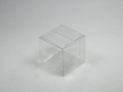 Pet vierkant doosje 5x5x5 cm (24 stuks)