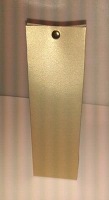 Hoog tasje donker blink goud - €0,80 /stuk - vanaf 10st