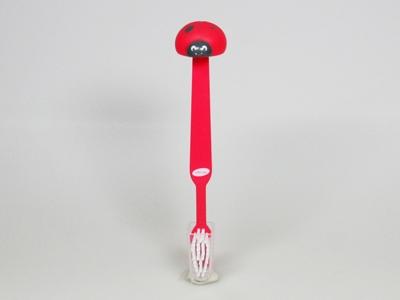Pim Pam rood tandenborstel (24 stuks)