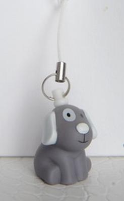 Billy hond grijs gsm hanger