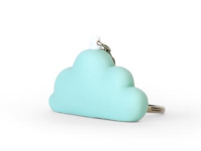 Dreams aqua sleutelhanger 5,5 cm (12 stuks)