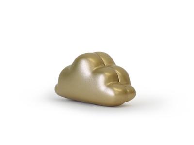 Dreams goud magneet 4 cm (12 stuks)