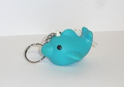 Fish 4u turkoois sleutelhanger (24 stuks)