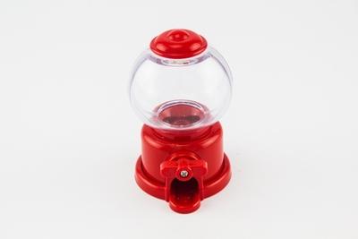 Kauwgomautomaatje rood klein 95 mm