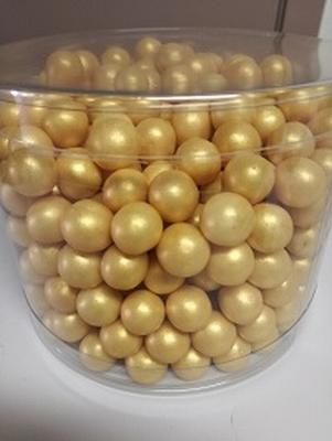 Choco choups parelmoer goud 500 gram