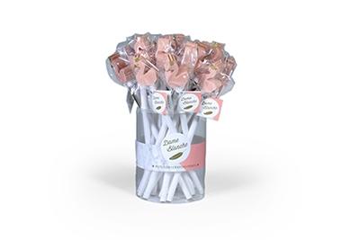 Zwaan blanche peache potlood met gom