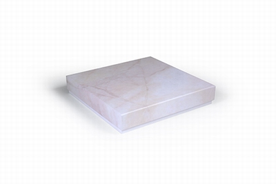 Luxe box roze marmer (2 stuks)