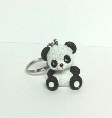 Pandabeer sleutelhanger