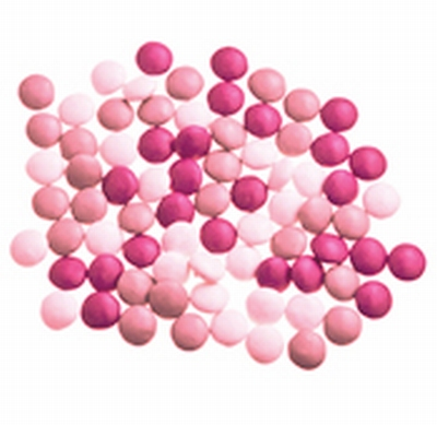 Mini smarties confetti mix girl 2 gelakt 1 kg