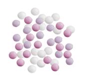Mini smarties confetti roze assortiment gelakt 1 kg