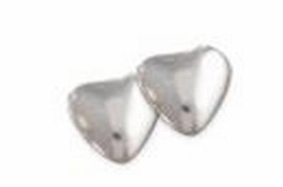 Smartie hartjes zilver metal 1 kg