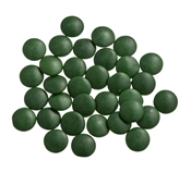 Mini smarties confetti Xgroen gelakt 1 kg
