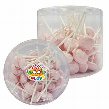 Lollywood Colors Dextrose Lollies Roze 500gr (+-50 lollies)